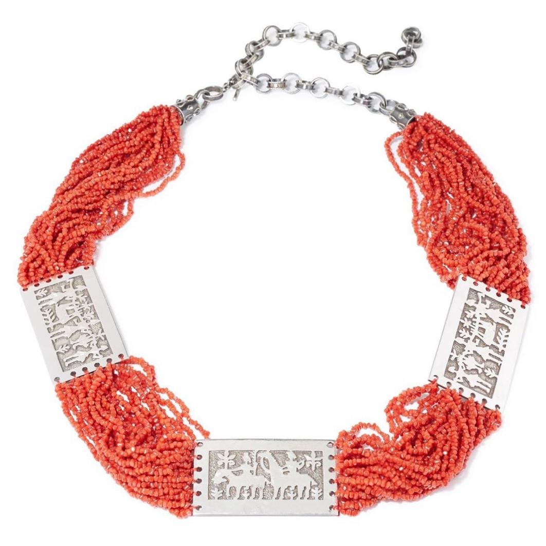 red coral belt