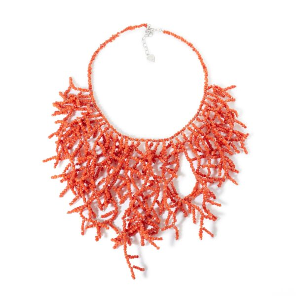 coral rubrum necklace