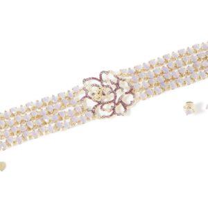 Bracelet and Studs: Corte dei Petali