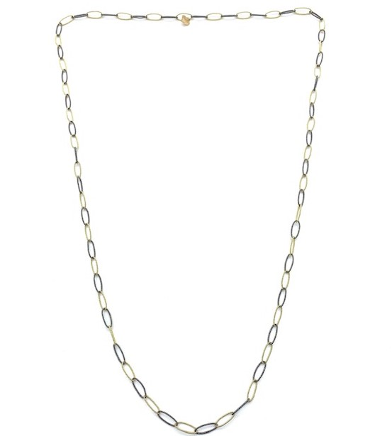 gold filigree chain