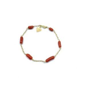 bracelet 6 corals