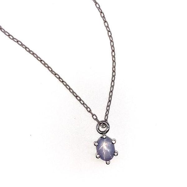star sapphire charm