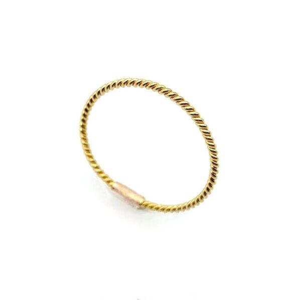 pimk gold ring
