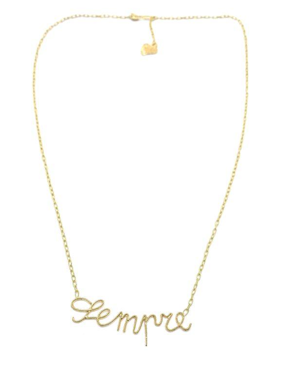 chain with written sempre