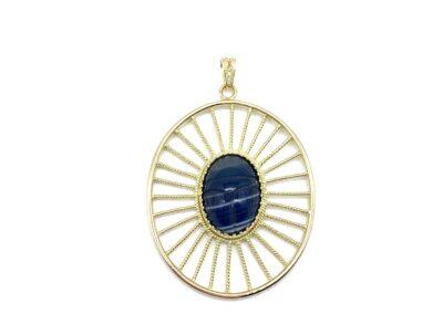 Eileen Nest Blue Sun Charm